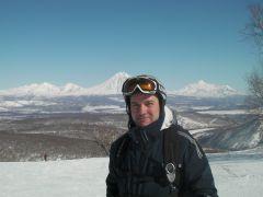 Вид с горы Морозная