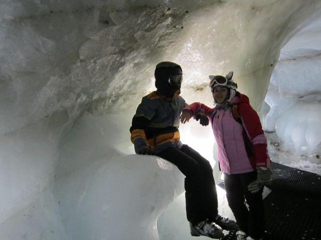 грот на леднике