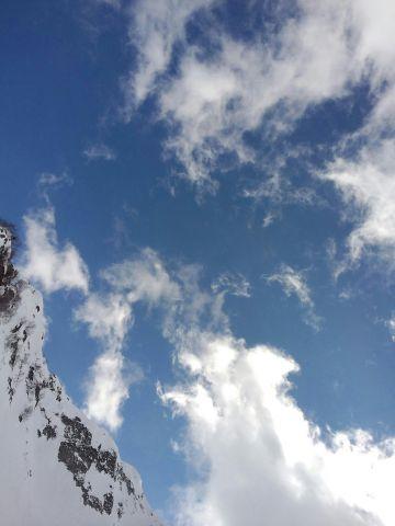 Небо трасса с Роза Пик