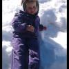 Наш маленький горнолыжник