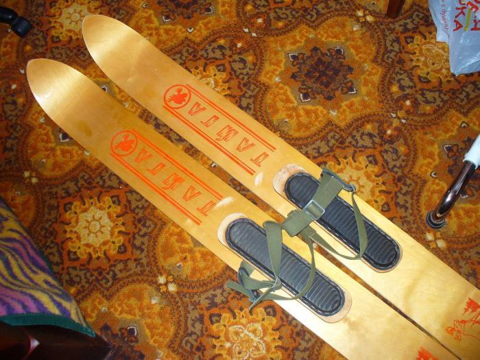 Как своими руками сделать охотничьи лыжи своими руками