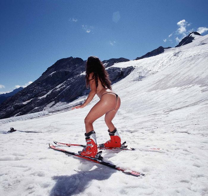 Sexy kayak