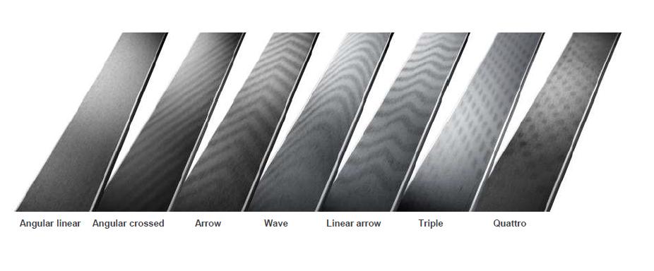структура скользящей поверхности лыж атомик