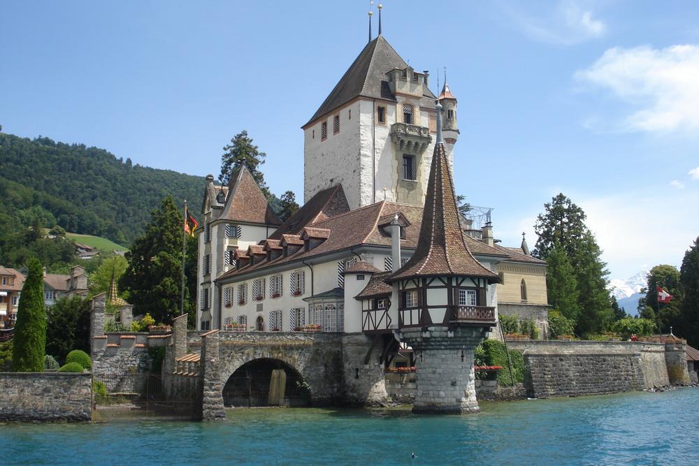Швейцария - достопримечательности, замки, горы, районы ...