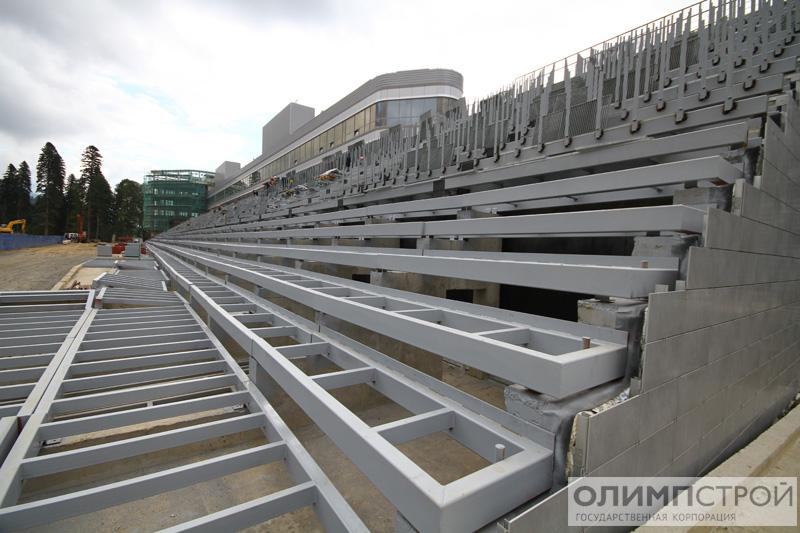 биатлонный стадион;