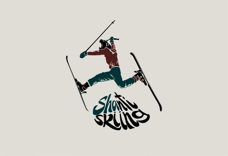 Фотография Shanti skiing