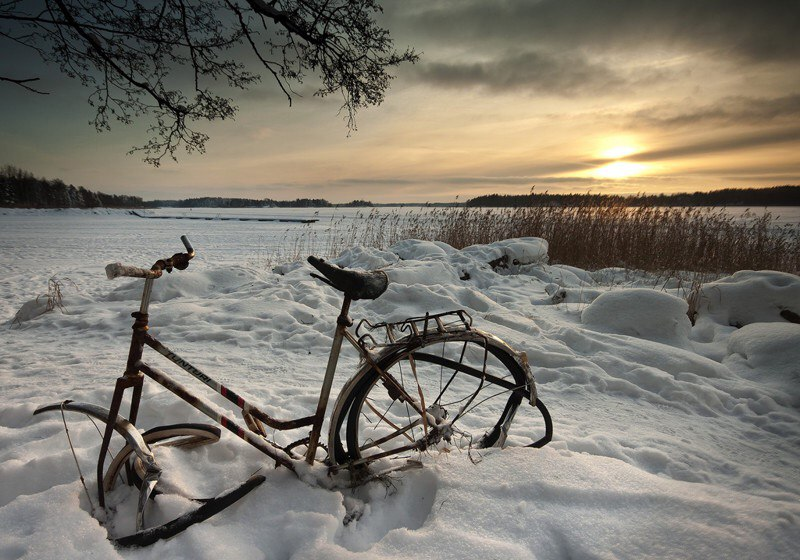 Фотография snowbike